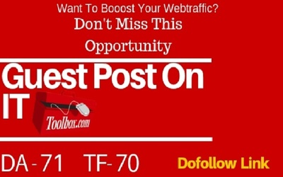 Write and Publish Guest Post on it.toolbox.com Technology Blog