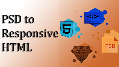 PSD To Responsive HTML5+ CSS3 Web Page using Bootstrap 4.0