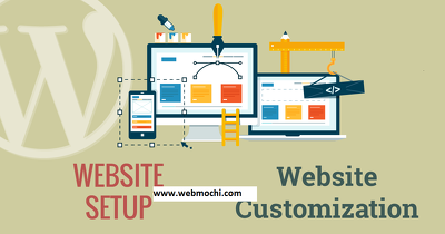 Customize or update your WordPress website