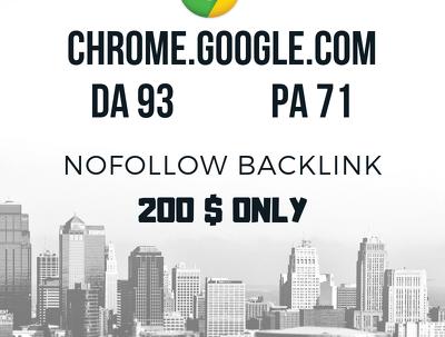 Do Real Guest Post on chrome.google.com DA 93 NO-Follow Link