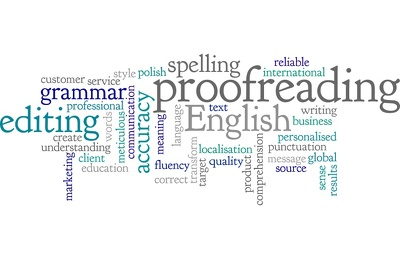 Proofread, correct and edit 1000 words of English