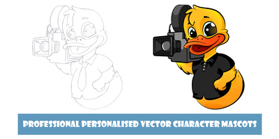 Create a cartoon mascot for your business