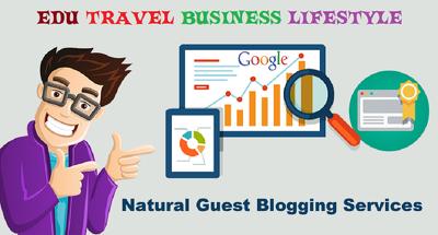 Guest post on edu fashion travel business health blogs dofollow