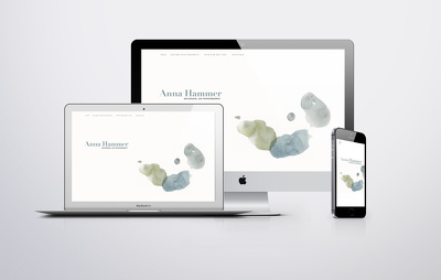 Design your website in Squarespace or Shopify
