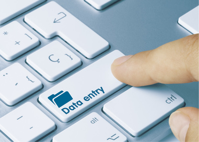 Do data entry for 2 hours with 1 day delivery promise