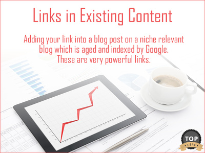 Create Links in Existing Content via Outreach