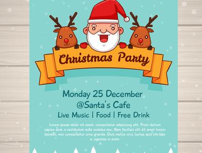 Offer Christmas poster