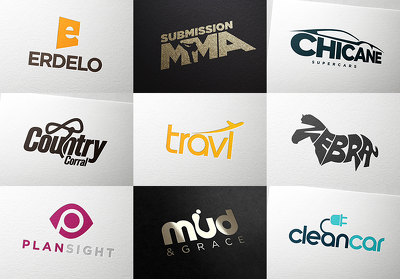 design a modern and unique logo  for any business