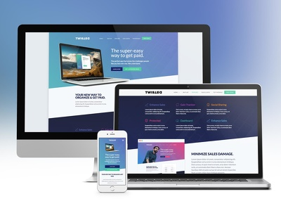 Design Professional mobile friendly Landing Page