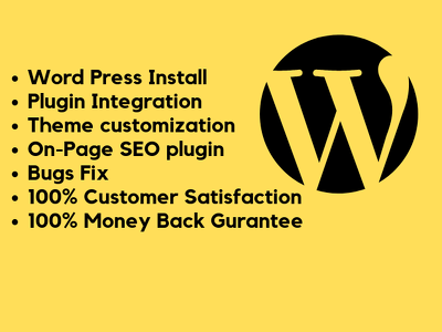Do Wordpress Theme Installation And Demo Setup Or Content