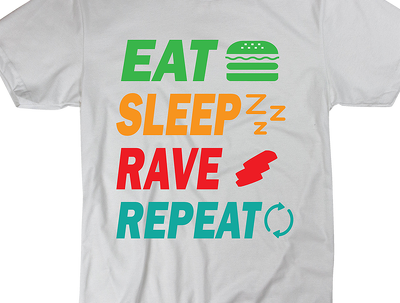 Create a Digital Typography T-Shirt Design