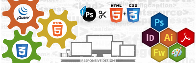 PSD to Responsive HTML5 conversion. Bootstrap and JS Included