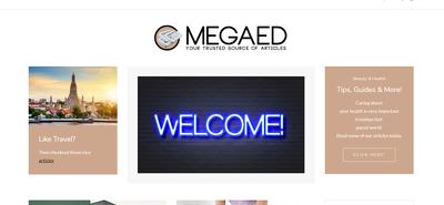 Place a SEO Guest Post on Megaedd.com - DA62, TF40