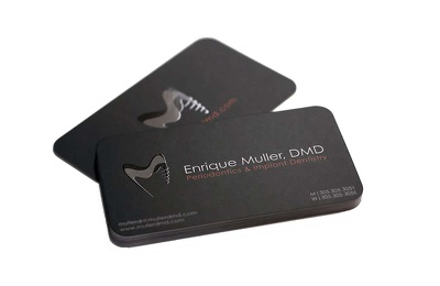 Design your professional double sided business card