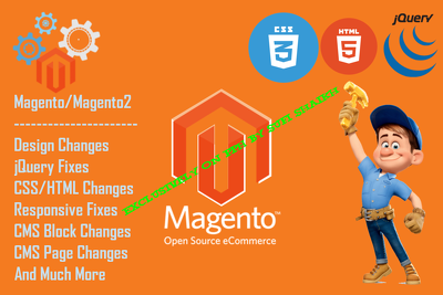Do Magento Design Changes and Fixes