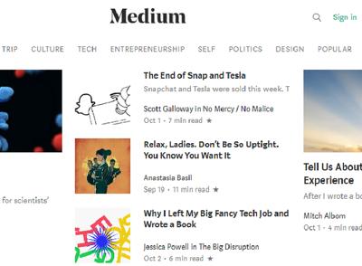 Write & Publish Articles On Medium And Playbuzz | Backlinks