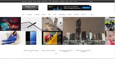 Publish a guest post on Designbuzz.com - DA57