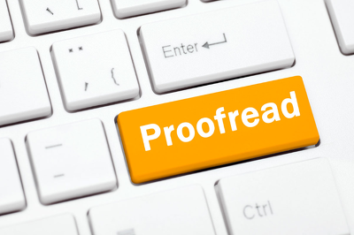 Proofread 1,500 words (single spaced) document