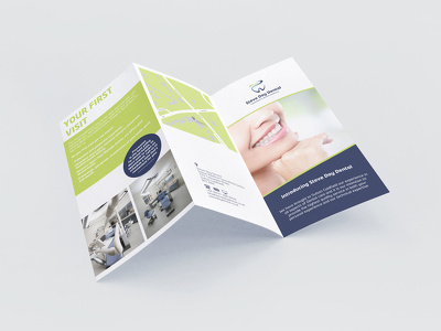 Design a trifold leaflet with unlimited revisions