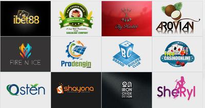Design Creative Logo+Free Favicon + All Source Files