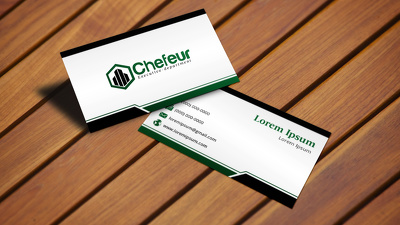 Professional business card design | PDF print ready file