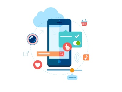 Develop custom hybrid mobile application