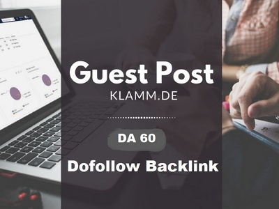 guest Post On German Blog klamm.de DA 60