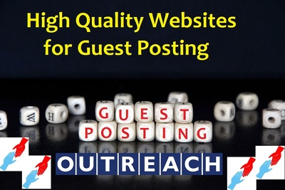 Provide Best Websites For Guest Post Opportunities
