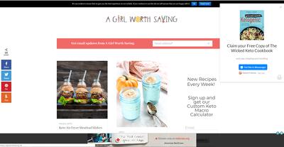 Publish a guest post on aGirlWorthSaving.net DA51, PA56