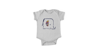 Design 4 motifs suitable for baby/childrens products.