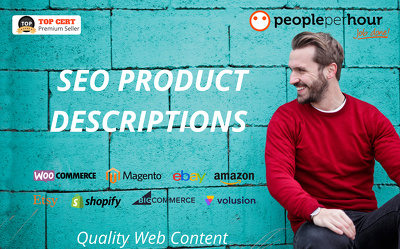 ★ Write 10 SEO PRODUCT DESCRIPTIONS that CONVERT! ★