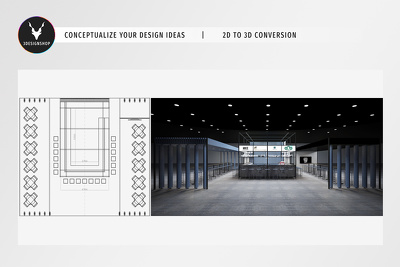 Provide you 3D Designs from your 2D Plans