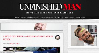 Publish a guest post on UNFINISHEDMAN.COM| DA 60| Dofollow