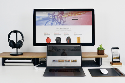 design a landing page for your company