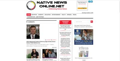 Publish a guest post on NativeNewsOnline.net - DA58, PA65