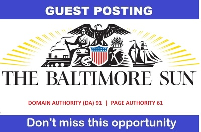 Guest Post on baltimoresun.com , baltimoresun - DA 91 , PA 61