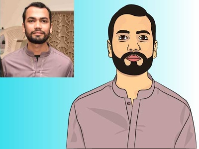 Design you 2D Realistic cartoon Avatar