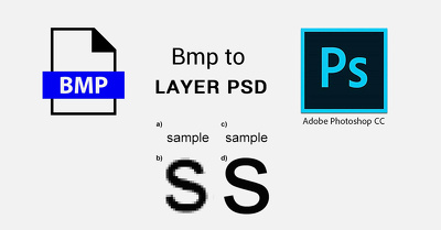 Illustrator or PSD version of a bitmap logo or Image