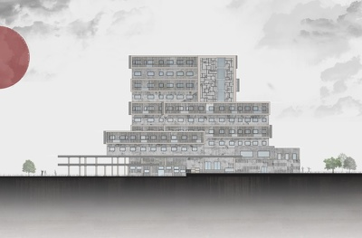 3dmodeling and rendering social hotel