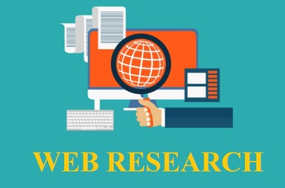 Be Your Web Researcher For 2+ Hours