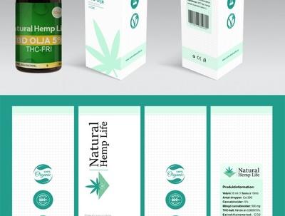 Design unique Product Sticker/ Label/box/package Design