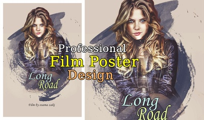 Design A Professional Movie Art Posterfor all uses