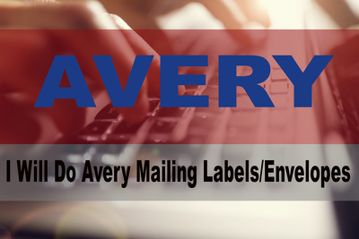 Do Avery Mailing Labels, Envelopes Or Letters