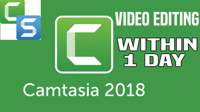 Edit Your Videos Using Camtasia 9 Within 1 Day