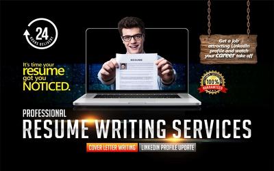 Write a win resume, CV, Cover Letter & LinkedIn profile