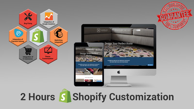 Shopify 2 hour customization, bug fixing and updates