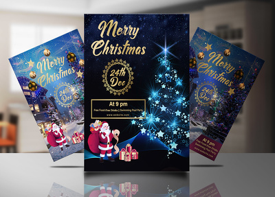 Design amazing Christmas Flyer and Poster