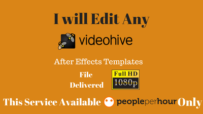 edit And Customize Your After Effects Template