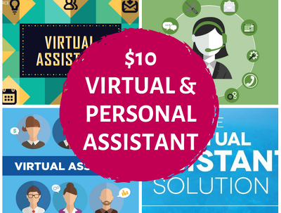 Be your Virtual Assistant for 1 day