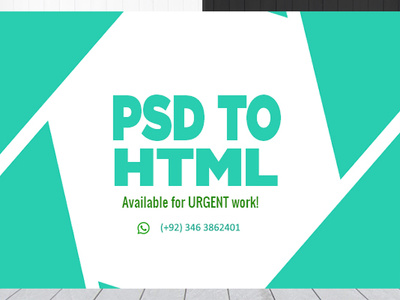 Convert psd to html with responsive using bootstrap